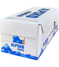 Алпско млеко чоколадно Транспортна кутија 24x200 мл