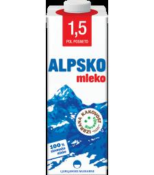 Алпско млеко 1,5% мм 1 л
