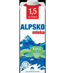 Алпско млеко со калциум 1,5% мм 1 л