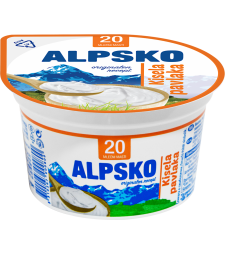 Алпско кисела павлака 20% мм 180 г