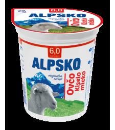 Алпско кисело млеко овчо 6% мм 350 г