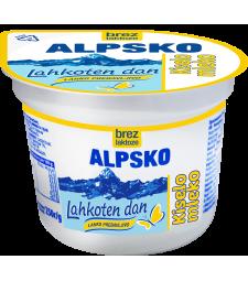 Алпско кисело млеко без лактоза 250 г