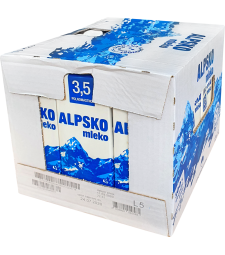 Алпско млеко 3,5% мм Транспортна кутија 12/1