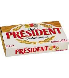 Президент путер несолен 125 г