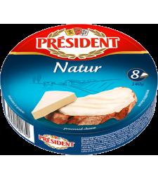 Президент топено сирење Натур 140 г