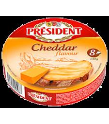 Президент топено сирење со вкус на чедар 140 г