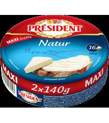 Президент топено сирење Натур Макси 280 г